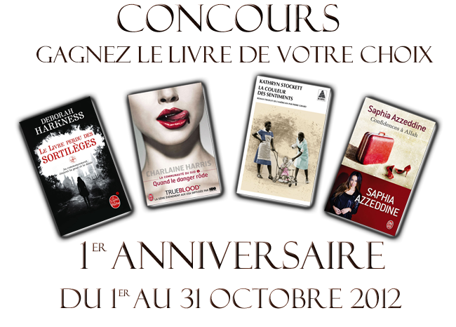 Concours octobre 2012