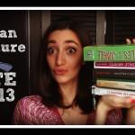 Bilan des lectures de l'été 2013