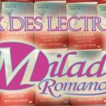 Prix des Lectrices Milady Romance 2015