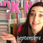 Book Haul : Septembre 2015 (Part. 1)