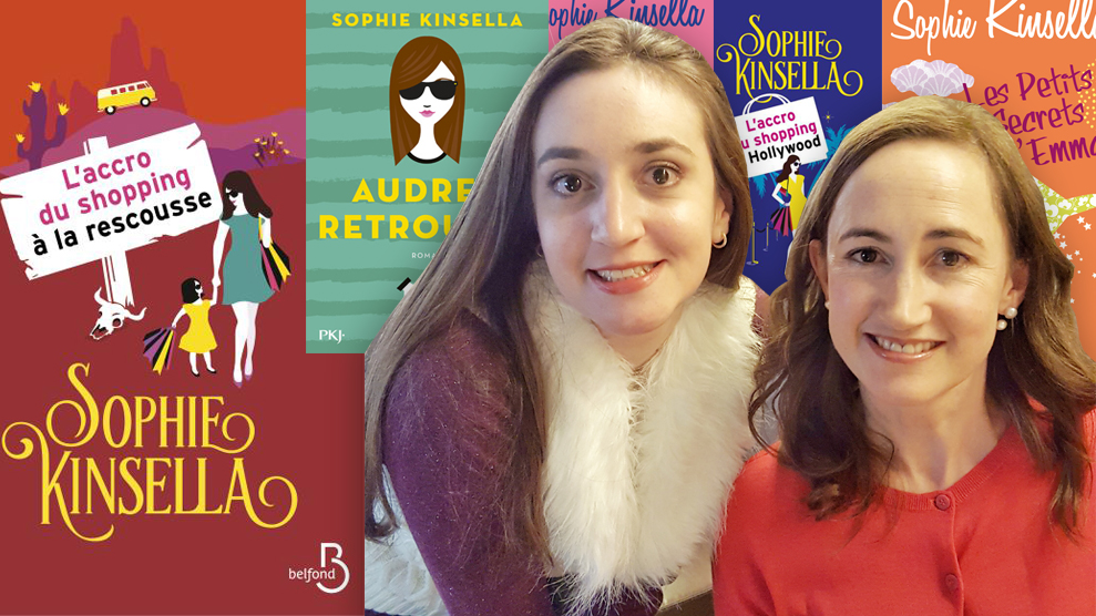 Interview Sophie Kinsella cover