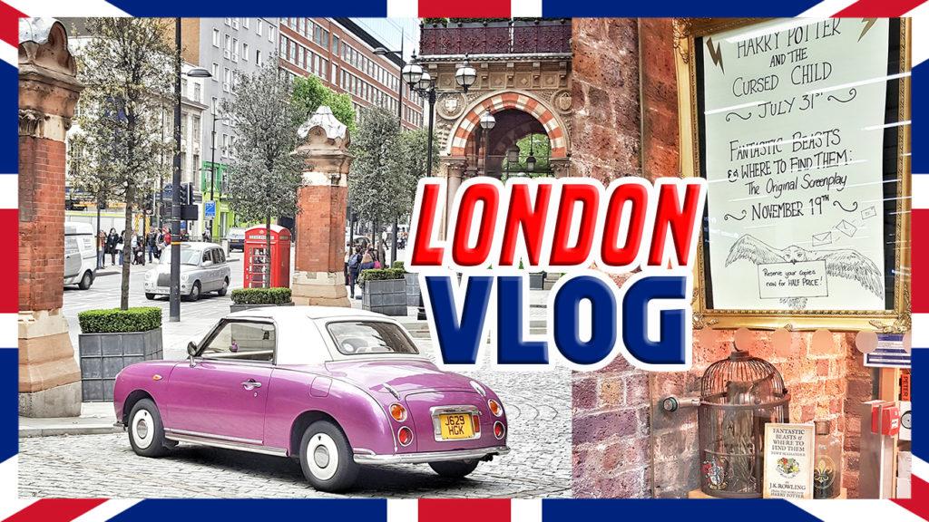 London vlog cover