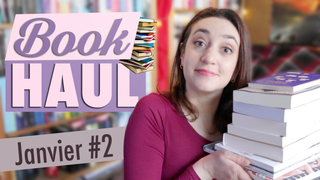 Book Haul Janvier 2017 Part. 2 cover