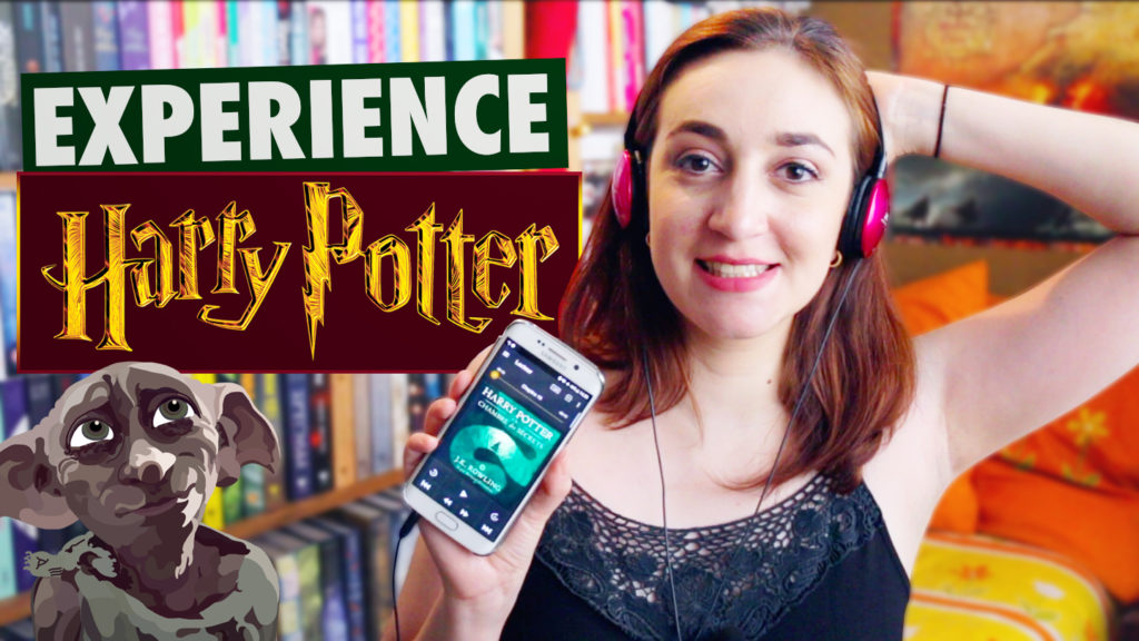 Harry Potter Audible cover